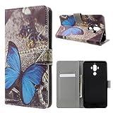 jbTec® Flip Case Handy-Hülle zu Huawei Mate 9 / Mate 9