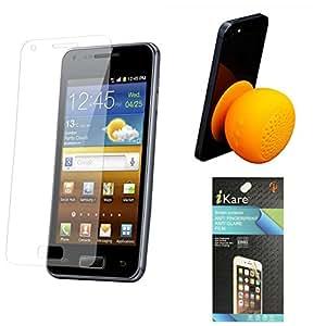 iKare Pack of 2 Anti-Glare Anti-Scratch Anti-Fingerprint Matte Screen Protector for HTC Desire 820 + Waterproof Bluetooth Suction Stand Speaker