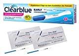 Clearblue Frühe Erkennung Schwangerschafts-Frühtest 10 miu/ml + 2 Schwangerschaftstests 25 miu/ml