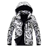 UFACE Herren Fleece Innen Camouflage Softshell Hoodie Outdoor Outfit Assault Coat