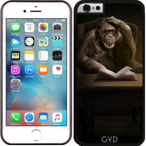 silicone-case-for-iphone-6-6s-monkey-ape-animal-chimpanzee-by-wonderfuldreampicture