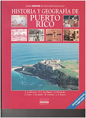 Historia Y Geografia Puerto Rico por Not Available