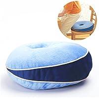 Preisvergleich für Homesave Speicherschaum Sitzkissen, Das Donut-Kissen-Komfort-Kissen Schöne Buttock-Pads Memory-Schaumkissen Bodenkissen Bürowagen-Sitz Matte