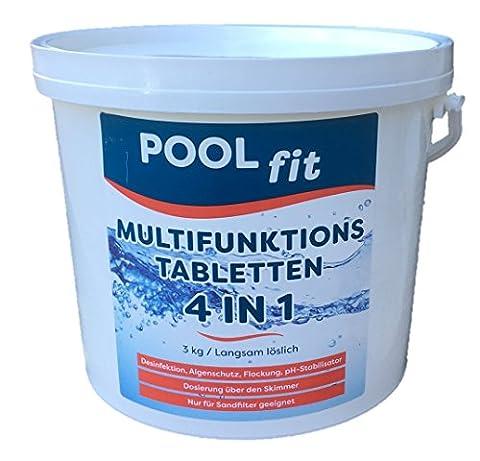 Comprimés multifonction 4en 1–Lentement soluble–3kg