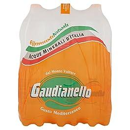 Gaudianello, Acqua Minerale Effervescente – 6 Bottiglie da 1.5 Litri