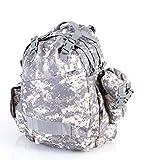 US Mission Pack Trekking Outdoor Tactical Rucksack 55 Liter + Army-Shop-BW Schlüsselanhänger (ACU-Camo)