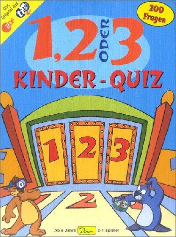 Preisvergleich Produktbild 1, 2 oder 3 Kinder - Quiz, Der TV-Renner für schlaue Kids mit 200 Fragen und Hintergrund-Informationen
