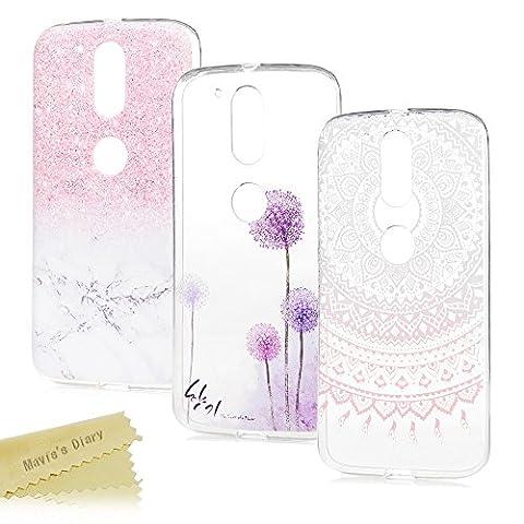 [3-Pack] Mavis's Diary Motorola Moto G4 / G4 Plus Case