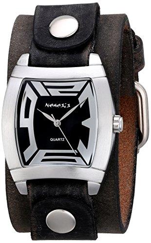 Nemesis Women's 067FBNK Rugged Series Analog Display Japanese Quartz Brown Watch