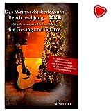Songbook mit bunter herzförmiger Notenklammer ! - Das Weihnachtsliederbuch für Alt und Jung XXL - ED22802 9783795712358