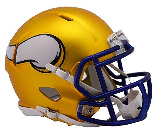 Riddell Blaze Alternate Speed Mini Helm Helmet Minnesota Vikings Football