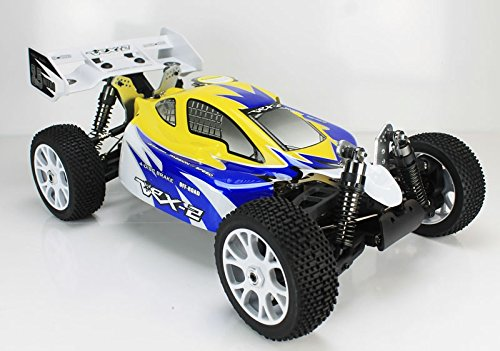 VRX Racing - Coche RC VRX-2 Buggy 1/8 Nitro 4WD...
