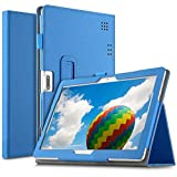 ELTD Stand Funciš®n Fundas Duras Para Tagital 10.1/Tiptiper 10.1/Yuntab K107/Excelvan K107/F888/LNMBBS 3G 10 pulgadas/BEISTA 10.1/Artizlee ATL-31/Artizlee ATL-21X/YOTOPT 10.1 pulgadas,(Azul)