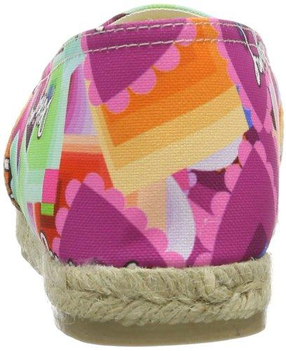 Desigual Beach Plana 11, Décontractées (casual) femme Multicolore - Mehrfarbig (FUCSIA GLAMOUR 3043)