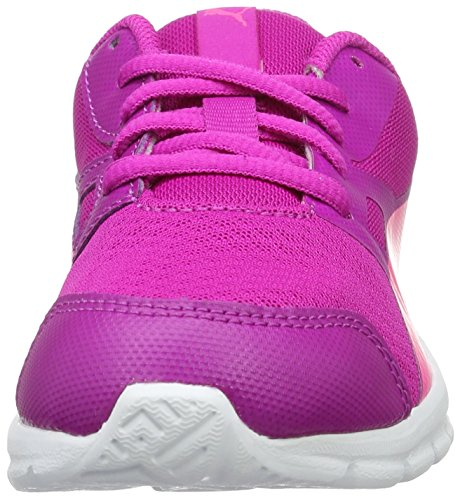 Puma Unisex-Kinder Flexracer Ps Low-Top Pink (ultra magenta-knockout pink 11)