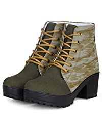 e73c3393fa9 Green Women s Boots  Buy Green Women s Boots online at best prices ...