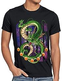 style3 Shenron Dragon T-Shirt Homme shenlong sacré Z goku vegeta roshi ball