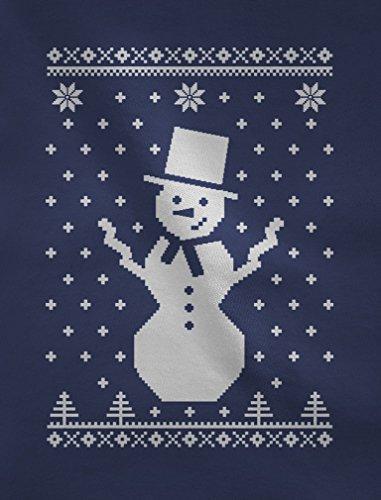 Bon homme de neige - Sweatshirt Femme Noir