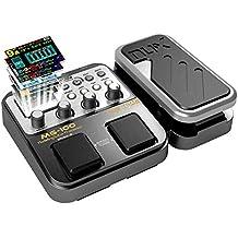 Asmuse NUX MG 100 Multiefecto para Guitarra Electrica multi Efecto Pedale Procesador de Efectos Guitar Effect