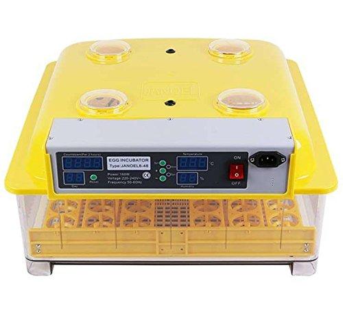 Sanven Janoel 48 Eier Inkubator Brutkasten Automatische Brutmaschine Brutapparat Brutautomat 160W