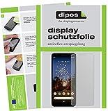 dipos I 2X Schutzfolie matt passend für Google Pixel 3a XL Folie Displayschutzfolie (bewusst Kleiner als das Glas, da Dieses gewölbt ist)