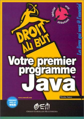 Votre premier programme Java