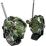 2 unids Reloj Spy Gadgets Reloj Intercom Interfono Walkie Talkie juguete niños campamento, camping, urbanizaciones, piscina, excursiones..