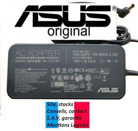 Ladegerät/Netzteil PC Laptops e-force ® für Asus adp-120rh B–120W/6.32A–Port inkl. 0EUR. Versand, gefolgt, Garantie von Website Französisch (Impressum Reelles). ASUS...