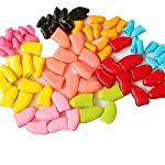 Crasy Shop 20Pcs/Lot Soft Silicon Pet Dog Cat Nail Caps Kitten Claws Paws Control Nail Protector Cover with Adhesive… 8