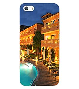 APPLE IPHONE 5S POOL VIEW Back Cover by PRINTSWAG