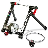 Minoura Live Ride 760 Indoor Cycling Magnetic Turbo Exercise Trainer Foldable Quiet Black