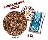 Mantovani Pet Diffusion Ghiaia Bios Sabbia Brown Media - 5000 G