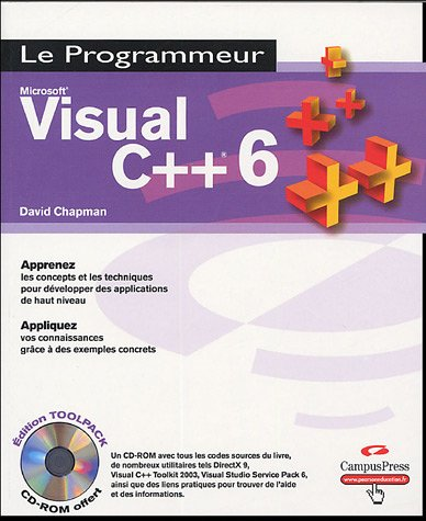Visual C++ 6 (1Cédérom)