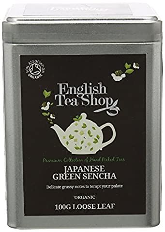 English Tea Shop Green Sencha Organic Loose Tea 100