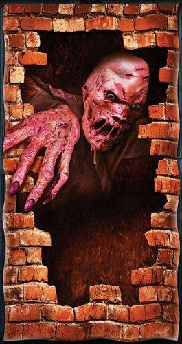 (Halloween Door Cover. Melting Zombie)