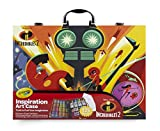 Crayola Disney Die Unglaublichen 2Koffer der Künstler-Malen und Zeichnen, für Spiel und Geschenk, Farbe Sortiert, 120Stück Art & Craft, 04–3315