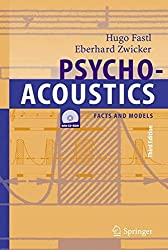 Psychoacoustics: Facts and Models (Springer Series in Information Sciences)