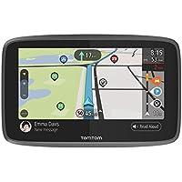 TomTom Camper - Navegador de 6 Pulgadas (con actualizaciones Mediante Wi-Fi, PDI para caravanas y autocaravanas, mapas para Toda la Vida de Todo el Mundo, Tomtom Road Trips)