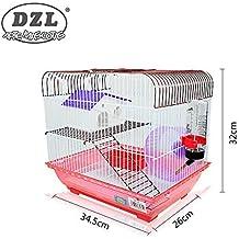 DI ZE LIN PET HOME S.L DZL® Jaula para Hamster 34.5 * 26 * 32cm