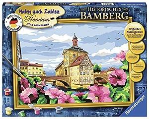 Ravensburger Historisches Bamberg Kit de Pintura por números - Libros y páginas para Colorear (Kit de Pintura por números, 1 páginas, Niño, Niño/niña, 14 año(s), 40 cm)