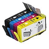 ouguan 4x (1negro + 1Cian + 1magenta + 1amarillo) Compatible HP 903903X l Cartucho de tinta para HP OfficeJet 6950696069706975All-in-One impresora