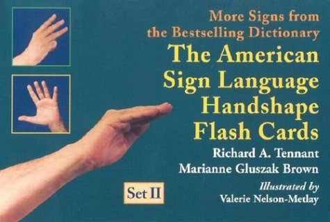 Braille-flash (The American Sign Language Handshape Flash Cards Set II)