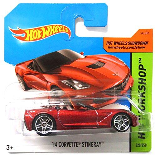 Hot Wheels Chevrolet Corvette Stingray 2014 1:64 1 64 Diecast Corvette