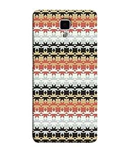 PrintVisa Designer Back Case Cover for Xiaomi Redmi Mi 4 :: Redmi Mi 4 (black blue pink white new design)