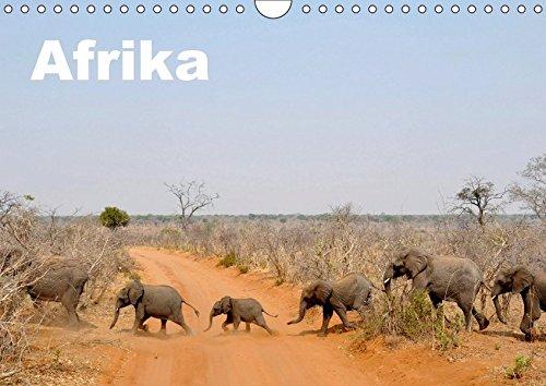 Afrika (Wandkalender 2018 DIN A4 quer): Afrika - seine Landschaften und Tierwelt (Monatskalender, 14 Seiten ) (CALVENDO Orte) [Kalender] [Apr 01, 2017] sirflor.ch, k.A.