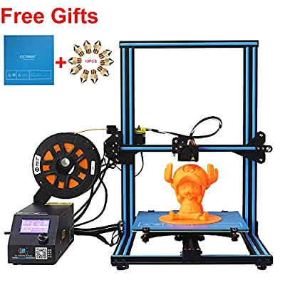 cctree creality cr-10s DIY Desktop 3D Printer Kit Breite Printing Size 300 x 300 x 400 mm 1,75 mm Filament 0,4 mm Nozzle Blue
