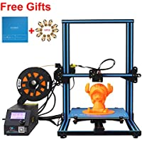 CCTREE Creality CR-10S DIY Desktop 3D Printer Kit Large Printing Size 300x300x400mm 1.75mm Filament 0.4mm Nozzle Blue