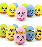 Toys Bhoomi Egg Hatching Musical Baby Tumbler Activity Toy with Lights & Sound - 1 PIECE ASSORTED COLORS