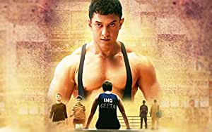 Buy Aamir Khan Dangal 2017 Poster On Fine Art Paper Hd Quality