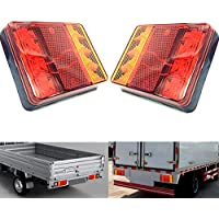 1 X RED REAR HALOGEN FOG TAIL LIGHT LAMP 12//24V LORRY TRAILER CHASSIS E-MARKED